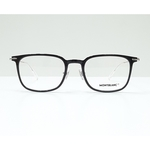 MontBlanc eyewear 0100O Black with Silver temples