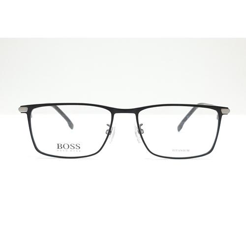 HUGO BOSS eyewear 1266F Black - Grey color