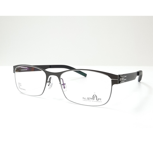 N STAR spectacle frame A217 Grey color