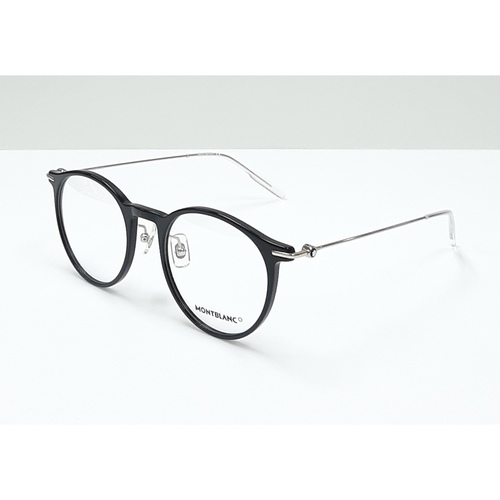 MontBlanc spectacle frame 0099O Black with Silver temples