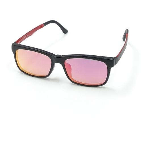 Prince Clip-On eyewear PS100 Pink Gold Mercury