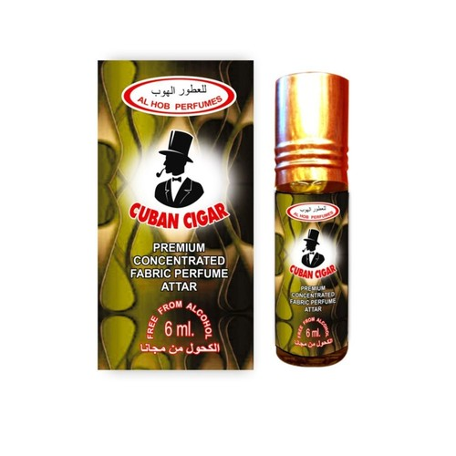CUBAN CIGAR ATTAR BY AL HOB PERFUMES
