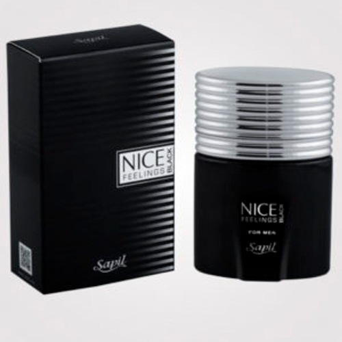 SAPIL NICE FEELINGS BLACK PERFUME