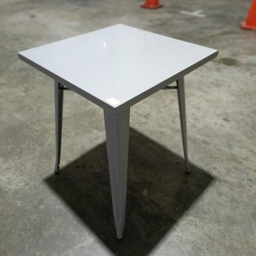 VENALE Metal Bistro Table in GREY