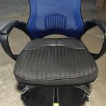 KARBON Racing Gaming Chair in BLACK & BLUE Mesh