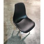 4 X RAZ Eames Designer Chair in BLACK SET