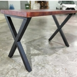 FIRESTONE Modern Industrial Solid Wood Study Desk