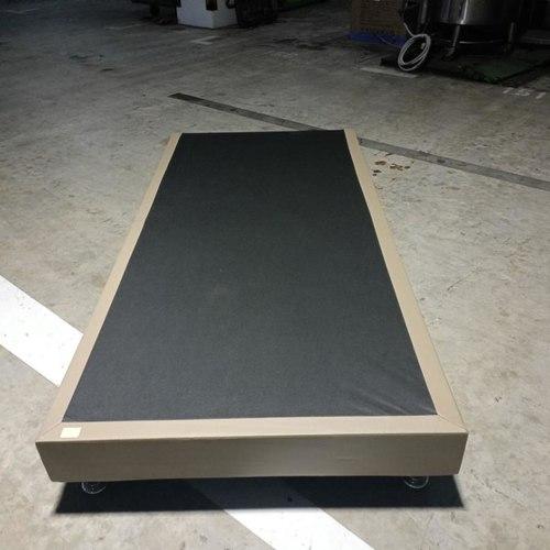 GASTEN II Single Bed Frame in COFFEE PU