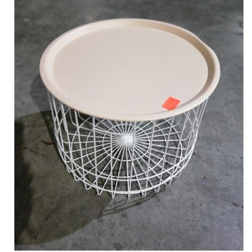 KORRIE Storage Basket Side Table