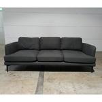 GRANITA 3 Seater Sofa in STONE GREY FABRIC