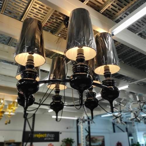 MANSORE BLACK L6 Chandelier Lamp MD20098-6