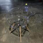 RAYS Eames Replica Armchair - CLEAR