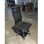 RAYS II Designer Replica HB Mesh Office Chair in BLACK without Armrest