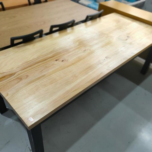 VASIL SCANDI INDUSTRI Series Solid Wood Dining Table