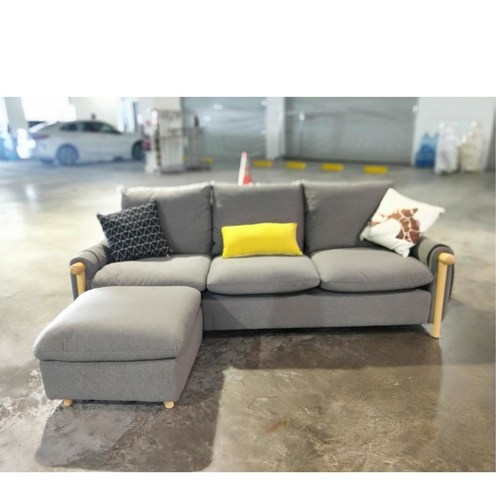ZENICA L Shaped Sofa RIGHT WHEN SEATED