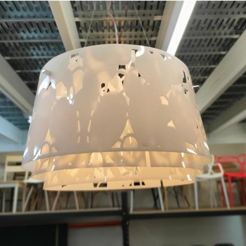 XANFER WHITE Hanging Ceiling Lamp MD70073-1-600