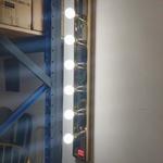 MOBY Gold Framed Vanity Spotlight