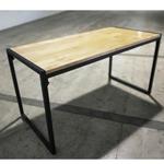 BURTONA INDUSTRI Series Solid Wood Dining Table