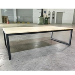 LOFIE Rustic Solid Wood Coffee Table