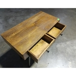 KENNEN INDUSTRI Series Table with 2 Drawers