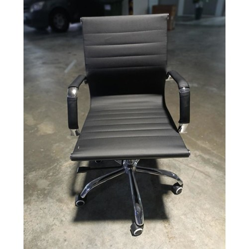RAYS VEXTER BLACK Lowback Office Chair