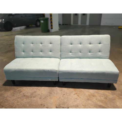 CASPER Sofa Bed in LIGHT Turquoise