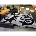 BLACKFLORAL Carpet 2.3m x 1.7m