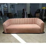 SHELLA Pink 3 Seater Sofa