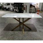 BOSTAVA II Modern Marble Top Dining Table 140cm x 70cm