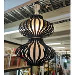 XWANG BLACK Chandelier Lamp MD50180-1-2