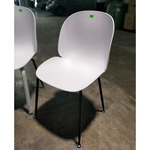 4 x IZZY Designer Replica Chairs in WHITE
