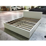 JODDIE Queen Size Faux Leather Bed Frame