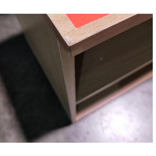 NEESON Mini TV Console in BEECH OAK