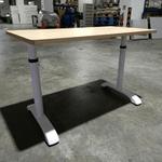 ZELDA Adjustable Study Table in OAK