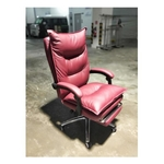 PEDROSA Executive Office Chair in MAROON PU