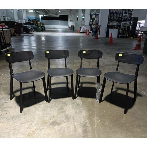 4 x NETTA Detachable Bar Chairs