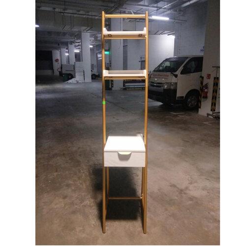 FELIXITY Modern Vanity Table with Shelves