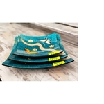 LAVON Handmade Lacquerware Plates Set of 3