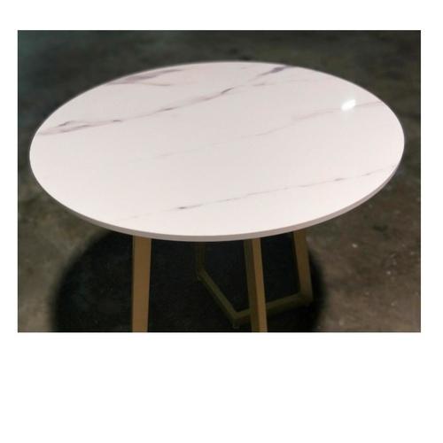 YELA Modern Round Marble Dining Table