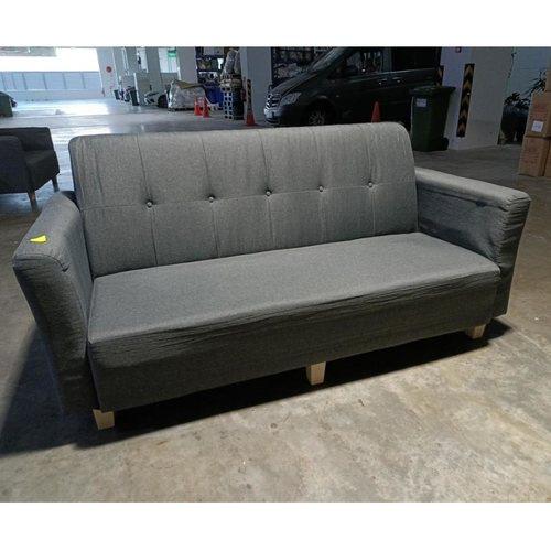 HAVANNA 3 Seater Sofa in DARK GREY