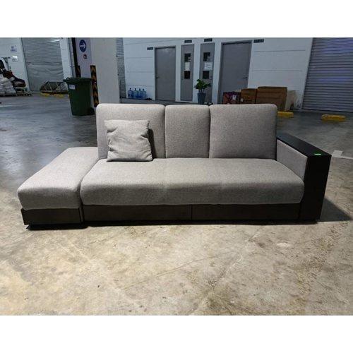 ARAI Storage Sofa Bed in GREY Fabric