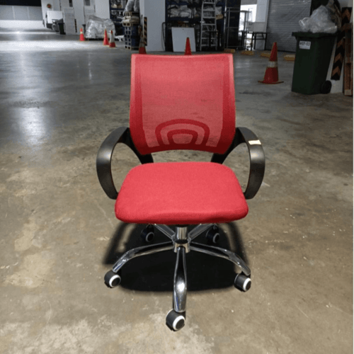 RAINERY Office Chair In RED