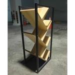 MONDEO INDUSTRI Series Solid Wood Bookshelf