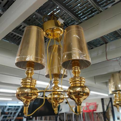 MANSORE GOLD M3 Chandelier Lamp MD20091-3