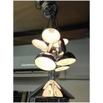 JILLER CHROME Chandelier Lamp MD6008-9
