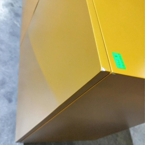 NAZZA II Modern Contemporary Sideboard TV Console in Yellow GOLD