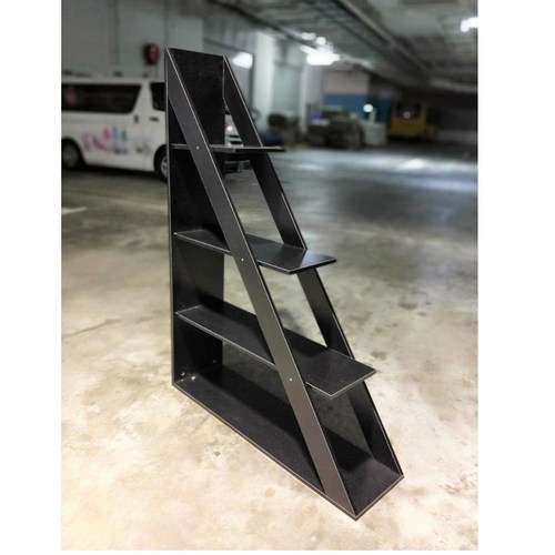 RECK Contemporary Industrial Display Shelf