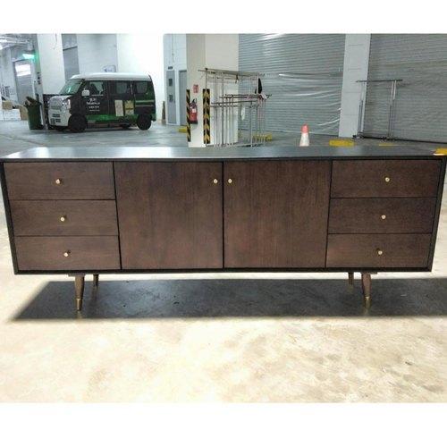 KALSEY INDUSTRI Series ACACIA Solid Wood Sideboard