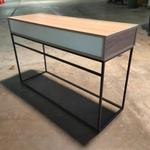 KRONICAL SCANDI Minimalist Hallway Console Table