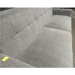 VENICE 3 Seater Sofa in GREY FABRIC